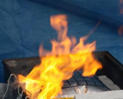 Extover® effectively extinguishes metal fires.